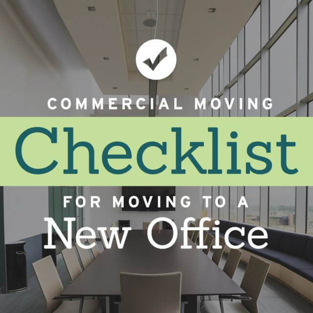 commercial moving checklist for moving to a new office cheap