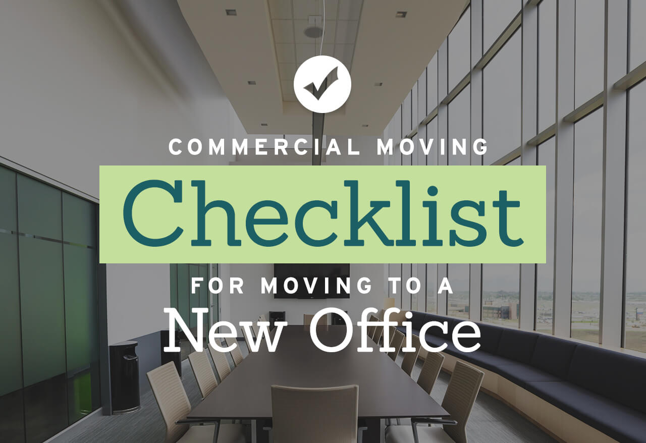 commercial moving checklist for moving to a new office